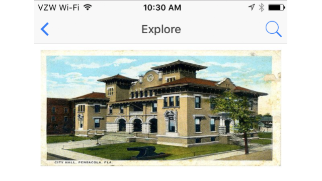 Historic Pensacola Village's Tour in the Next Exit History App